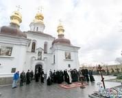 Киев — Евангельские группы при соборе в честь прп.Сергия Радонежского