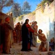 Неделя 29-ая по Пятидесятнице. Исцеление 10 прокаженных