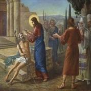 Неделя 31-ая по Пятидесятнице. Исцеление слепого при дороге близ Иерихона