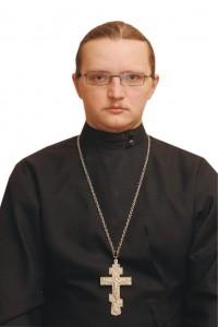 Священник Олег Шляхтенко, клирик Свято-Духовского собора г. Вильнюса.