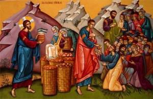 Насыщение пяти тысяч пятью хлебами1